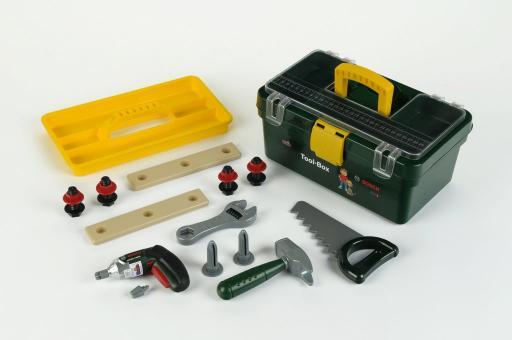 Werkzeugbox mit Ixolino und Zubehör