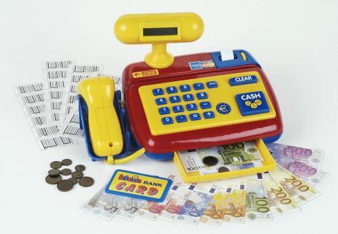 Elektronische Kasse mit Scanner