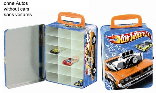 Hot Wheels Cars collecting case (for 18 cars), of tin