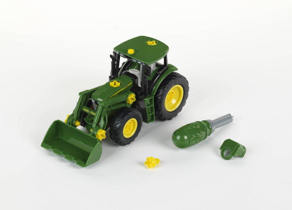 Klein toys shop john deere traktor mit frontlader und gewicht